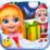 Baby Emily Christmas Time Icon