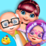 Happy Grand Parents Day Party Icon