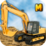 Excavator Crane Simulator 3D Icon