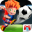Kids Head Soccer Icon