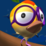 Hopping Bird Icon