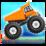 4x4 Hill Climb Truck Run Icon