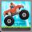 Monster Truck Hill Climb Icon