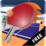 Ping Pong (Tabel tennis)3D Icon