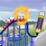 Roller Coaster Crazy Icon