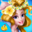 Princess Wedding flower girl Icon