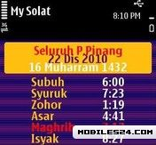 My Solat 2011 3.5 (Islamic Prayer Time)