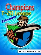 Champios T20 League Schedule