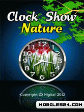 Clock Show Nature 2 Free 360x640