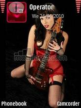 Girl And Guitar