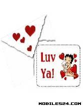 Valentine Betty Boop