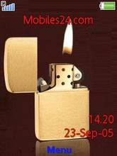 Animated Zippo Lighter Flame