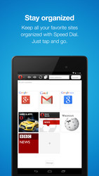 Opera Mini � Fast web browser