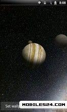 Solar System 3D Pro Live Wallpaper