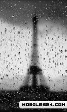 Live Picture Eiffel Tower on Description Eiffel Tower Rain Live Wallpaper