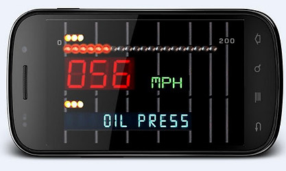 Kitt Voice Box & Speedometer
