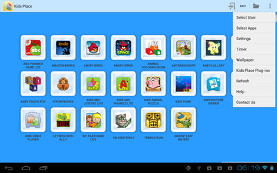 Kids Place - Parental Control Samsung Galaxy S3 App