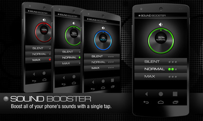 Volume Booster Free LG Optimus Pad App download - Download
