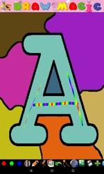 Coloring For Kids - Alphabet