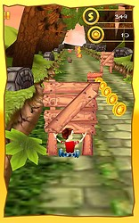 3D Jungle Runner : Racing Game