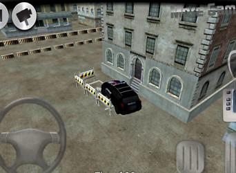 3D Police Car Parking