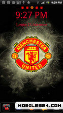 Man Utd Go Launcher Theme