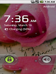 Beauty Pink Rose Live Wallpaper