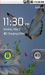 Blue Butterfly 3d Live Wallpaper
