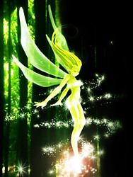 Fantasy Fairy Touch effect Live Wallpaper