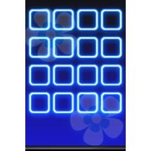 Blue Flower - Home Screen iP4