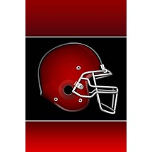 Football Helmet - Lock Screen iP4