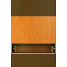 Wooden Shelf - Lock Scrn iP4