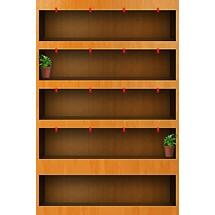 Wooden Shelf - Home Scrn iP4