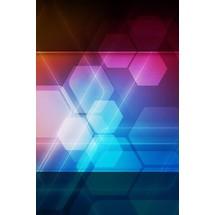 Hexa Glows - Lock Scrn iP4