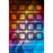 Hexa Glows - Home Scrn iP4