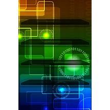 Digital Binary - Home Scrn iP4