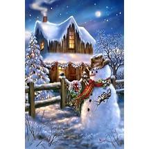 0 Christmas Scene