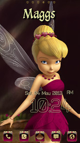 Free tinkerbell android themes mobiles24 tinkerbell pink voltagebd Choice Image