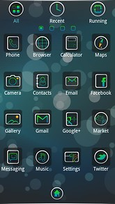 Bberry GO Launcher EX Theme