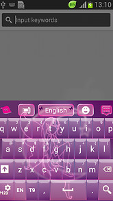 Pink Fairy Keyboard