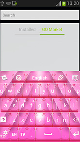 Cool Keyboard Pink