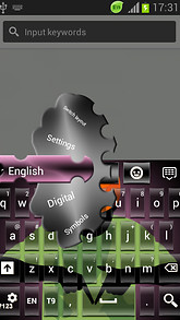Swag Keyboard Theme