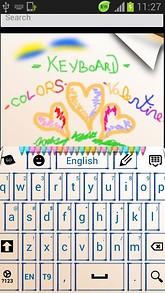 Colors Keyboard Crayons