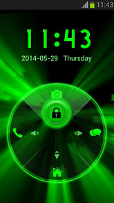 Neon Locker Green