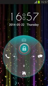 Rainbow Neon Locker