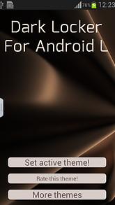 Dark Locker for Android L