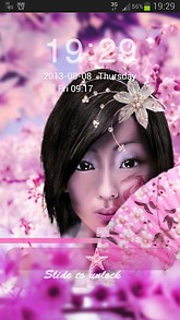 Japan Girl GO locker Theme
