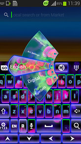 Fluorescent Keyboard