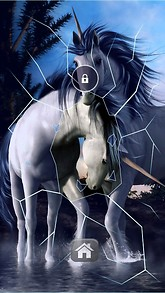 3D Unicorns Lock Screen