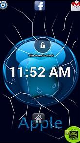 Apple Glass Lock Screen